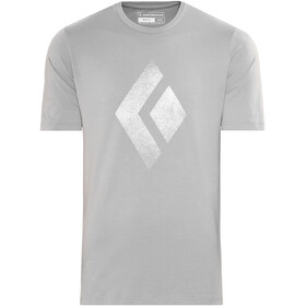 Black Diamond Chalked Up - T-shirt manches courtes Homme - gris